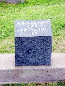 John Law Jock Hume