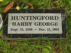 Harry George Huntingford