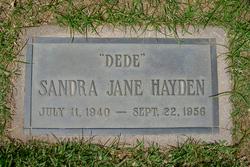 Sandra Jane Hayden