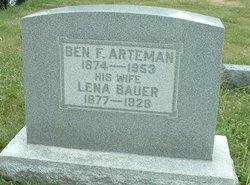 Lena Christena <i>Bauer</i> Arteman