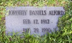 Dorothy <i>Daniels</i> Alford