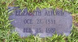 Elizabeth Alford