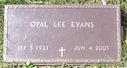 Opal Lee <i>Smith</i> Evans
