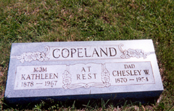 Chesley Woodrow Ches Copeland