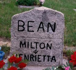 Henrietta Elizabeth <i>Sprague</i> Bean