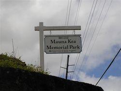 Mauna Kea Memorial Park