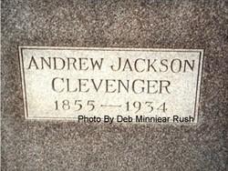 Andrew Jackson Clevenger