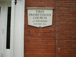 Titusville Presbyterian Churchyard