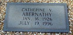 Catherine V. <i>Self</i> Abernathy