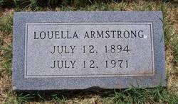 Elizabeth Louella <i>Craven</i> Armstrong