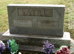 Mary Catherine <i>Barr</i> Sayre