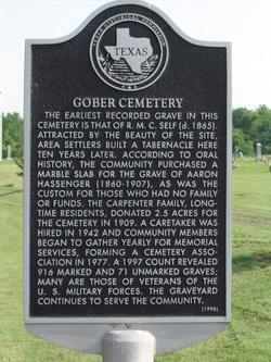 Gober Cemetery