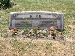 Caroline Eliza Carrie <i>Patterson</i> Fife