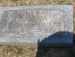 Velma Sarah <i>Fife</i> Johnson