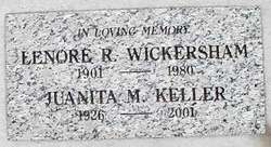 Juanita Mary <i>Wickersham</i> Keller