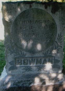 Thomas Marshall Bowman