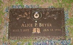 Alice Ruth <i>Pitzer</i> Beyer