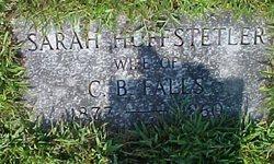 Sarah Susan <i>Huffstetler</i> Falls