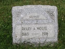 Mary <i>Auld</i> Wolfe