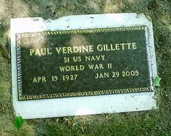 Paul Verdine Gillette