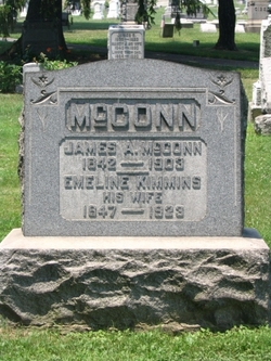 Emeline Emma <i>Kimmins</i> McConn