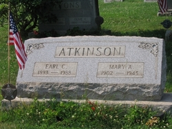Mary Maud <i>Anderson</i> Atkinson