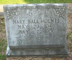 Mary <i>Ball</i> Holmes
