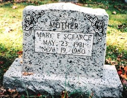 Mary Frances <i>Young</i> Scearce