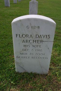 Flora <i>Davis</i> Archer