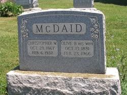 Olive B. <i>Auld</i> McDaid