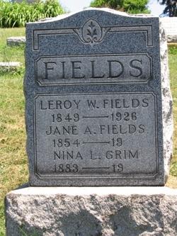 Nina L. <i>Fields</i> Grim