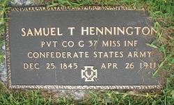 Pvt Samuel Thomas Henington