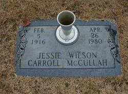 Jessie <i>Wilson</i> Carroll McCullah