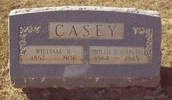 Mollie Elizabeth <i>Clements</i> Casey