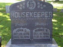 Minnie N. <i>Leiter</i> Housekeeper