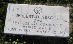 Robert D Abbott