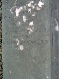 Capt Charles Evert Cadwalader