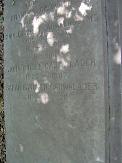 Sarah Bancker Cadwalader