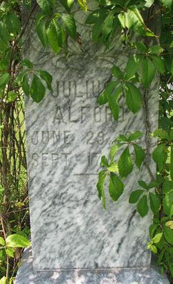 Dr Julius Whitford Alford