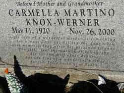 Carmella <i>Martino</i> Knox-Werner