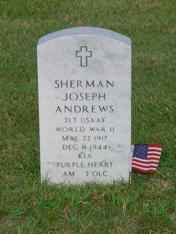 Lieut Sherman J. Andrews