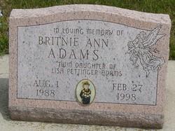 Britnie Ann Adams