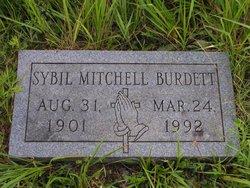 Sybil N <i>Mitchell</i> Burdett