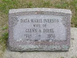 Data Marie <i>Iverson</i> Diehl