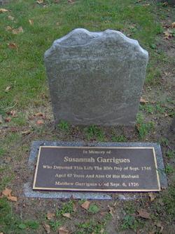 Susannah <i>Rochet</i> Garrigues