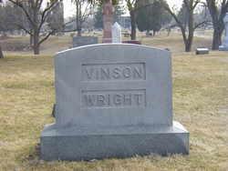 Anna L. <i>Wright</i> Vinson