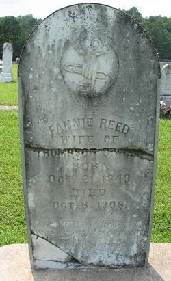 Fannie <i>Reed</i> Webb