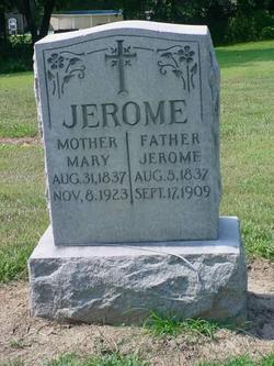 Mary <i>Godin</i> Jerome
