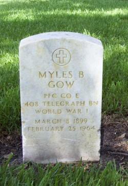 Myles B. Gow