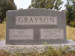 Sarah <i>Fricks</i> Grayson